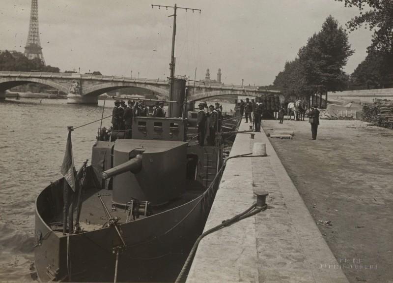 Les canonnières fluviales françaises  B-brut10
