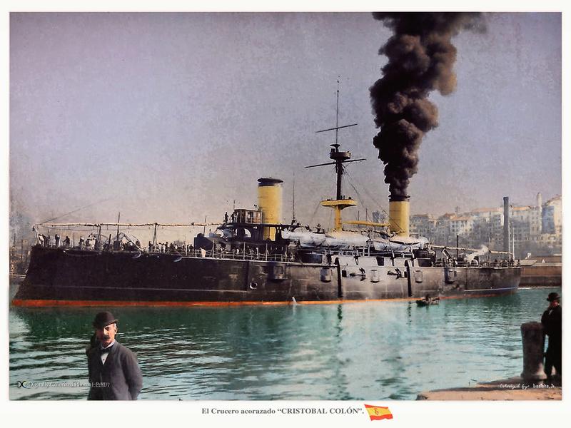Croiseurs espagnols - Page 2 Cristo10