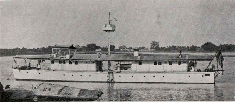 Les canonnières fluviales françaises  Mytho11