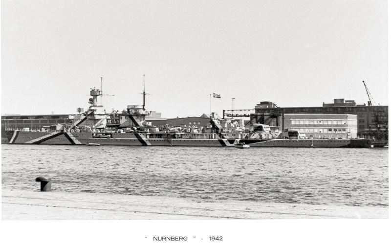 Croiseurs allemands - Page 2 Nurnbe11