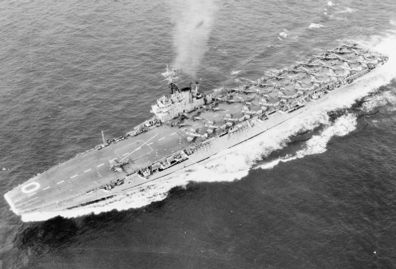 Porte-avions classe COLOSSUS britannique. Ocean_11
