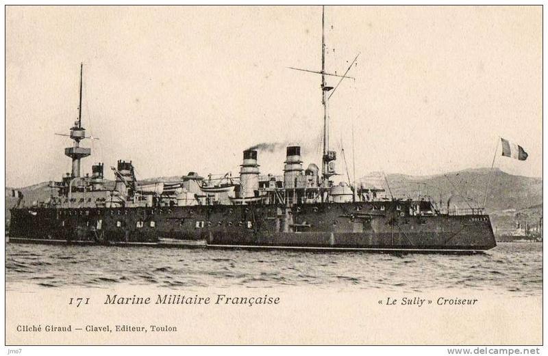 Croiseurs français  - Page 5 Sully_10