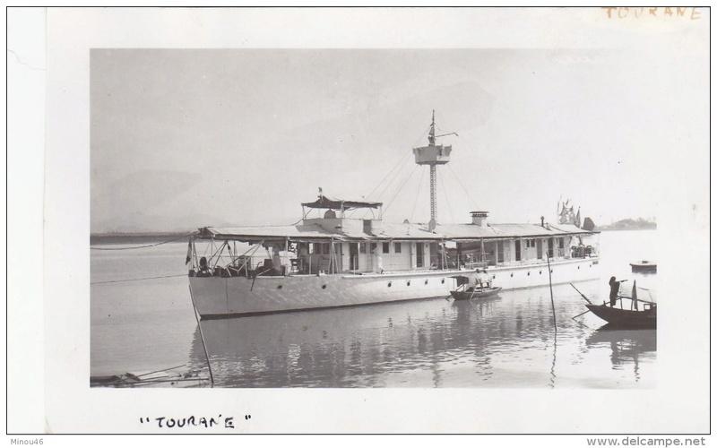 Les canonnières fluviales françaises  Touran11
