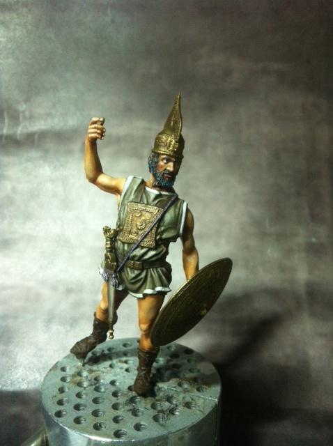 Guerrier Etrusque Villanovien par BONO Photo_44