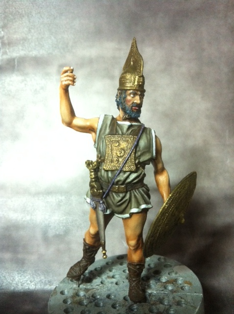 Guerrier Etrusque Villanovien par BONO Photo_45