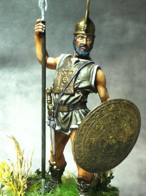 Guerrier Etrusque Villanovien par BONO Photo_50