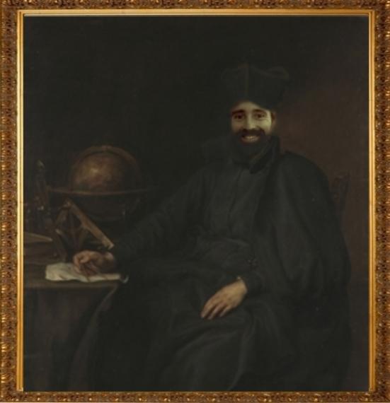 Salle des portraits officiels du manoir. Loic221
