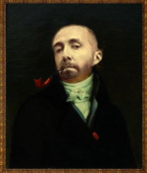 Salle des portraits officiels du manoir. Pierro15