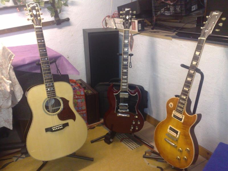 Gibson SG : un petit éclairage siouplait 05112010