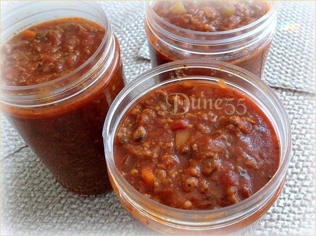Sauce à spaghetti Dune55 Ltmjut10
