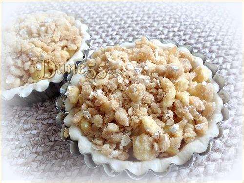 Tarte crumble aux pommes et caramel beurre salé Xq2qml11