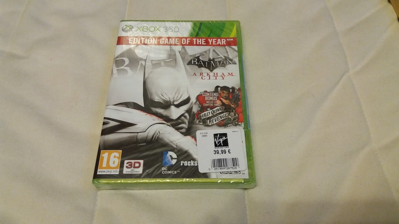 [VDS/ECH] Collection de 41 jeux XBOX 360 de BE à neuf sous blister Batman10