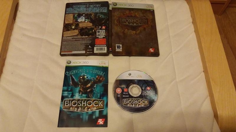 [VDS/ECH] Collection de 41 jeux XBOX 360 de BE à neuf sous blister Biosho10