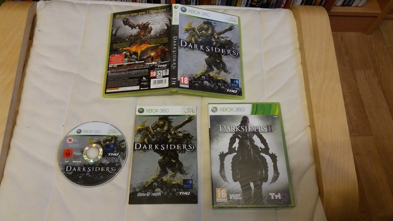 [VDS/ECH] Collection de 41 jeux XBOX 360 de BE à neuf sous blister Darksi10