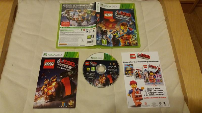 [VDS/ECH] Collection de 41 jeux XBOX 360 de BE à neuf sous blister Lego_a10