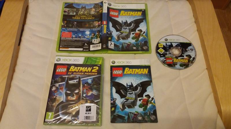 [VDS/ECH] Collection de 41 jeux XBOX 360 de BE à neuf sous blister Lego_b10