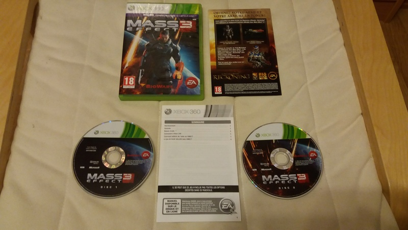 [VDS/ECH] Collection de 41 jeux XBOX 360 de BE à neuf sous blister Mass_e10