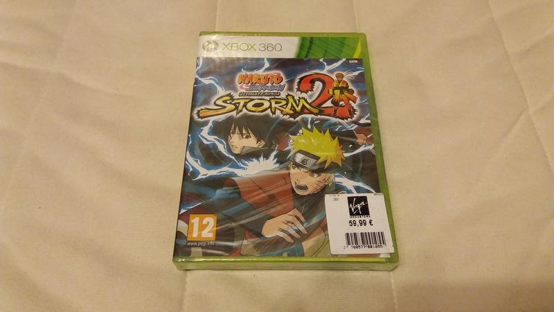 [VDS/ECH] Collection de 41 jeux XBOX 360 de BE à neuf sous blister Naruto10