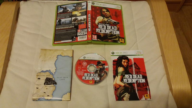 [VDS/ECH] Collection de 41 jeux XBOX 360 de BE à neuf sous blister Red_de10