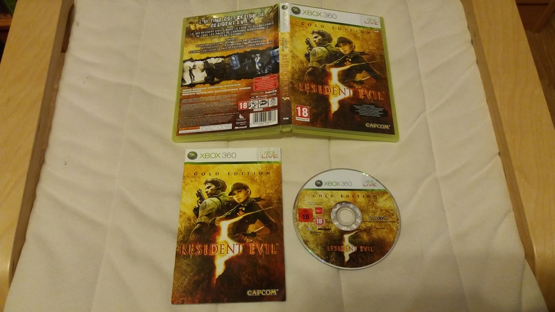 [VDS/ECH] Collection de 41 jeux XBOX 360 de BE à neuf sous blister Reside10