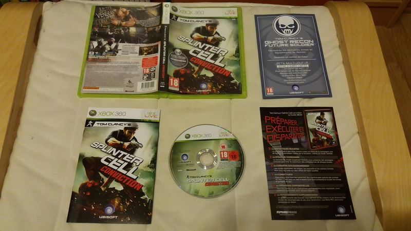 [VDS/ECH] Collection de 41 jeux XBOX 360 de BE à neuf sous blister Splint10