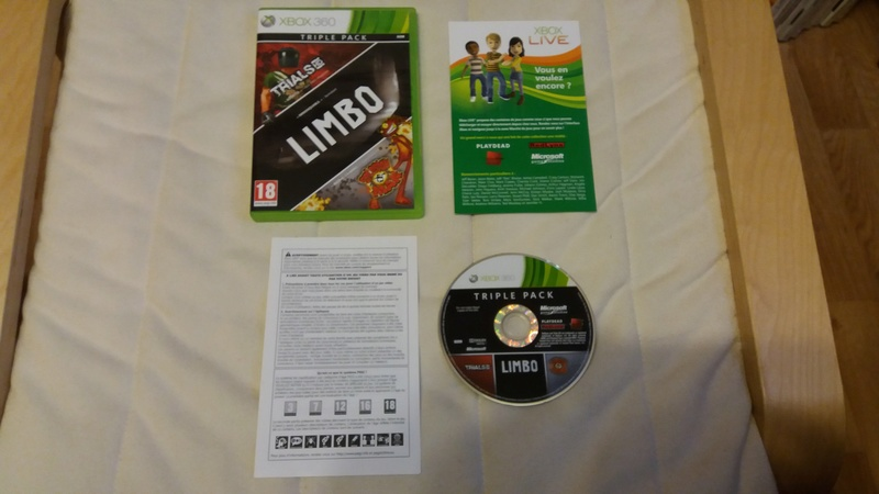 [VDS/ECH] Collection de 41 jeux XBOX 360 de BE à neuf sous blister Trials10