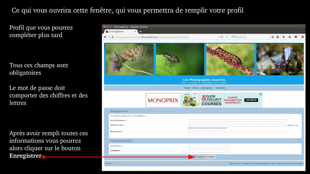 Tuto  - Fonctionnement du forum, Comment faire Forum_14