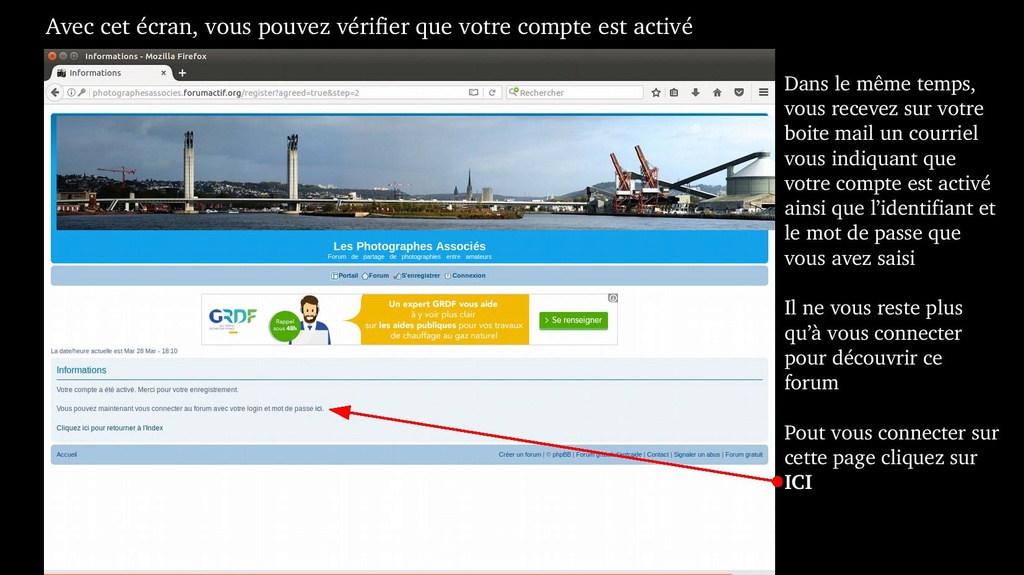 Tuto  - Fonctionnement du forum, Comment faire Forum_16