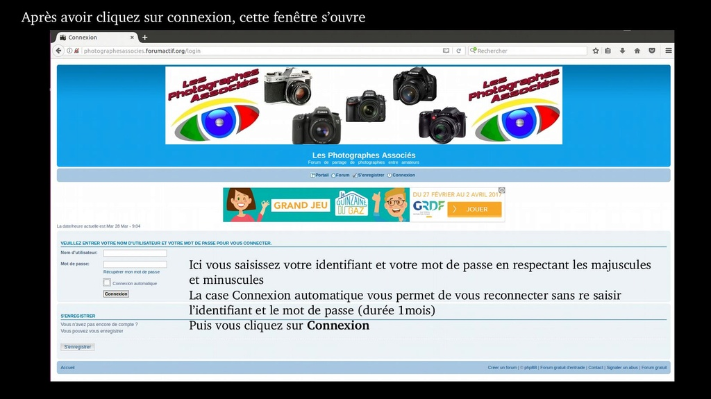 Tuto  - Fonctionnement du forum, Comment faire Forum_27
