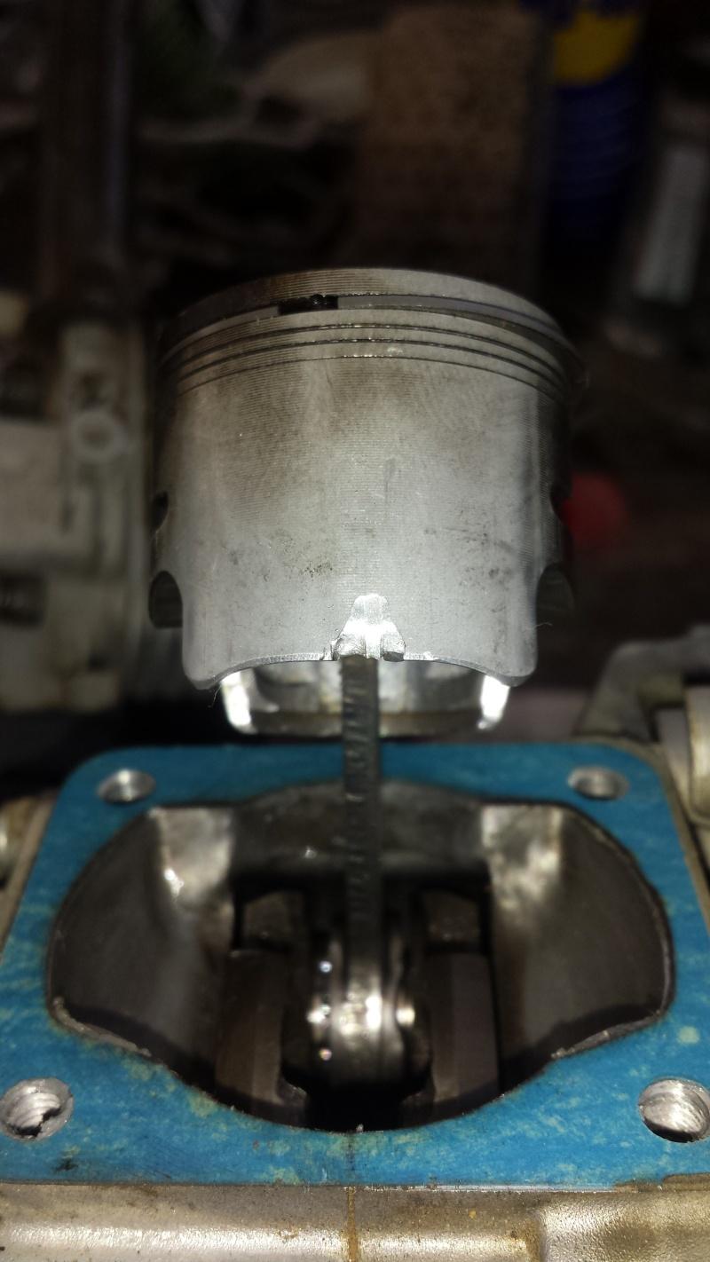 Suite à une vis dans mon moteur, il ne démarre plus.  S4_16510