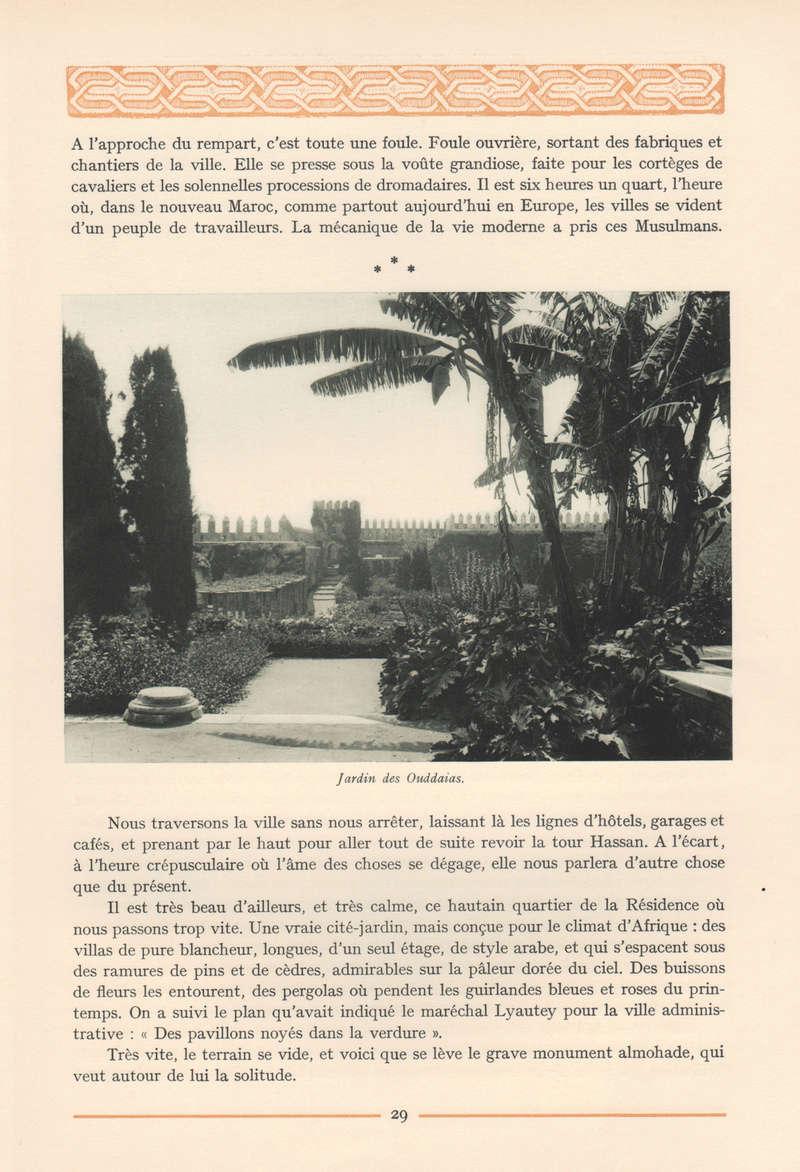 VISIONS DU MAROC, André CHEVRILLON. 05-vis11