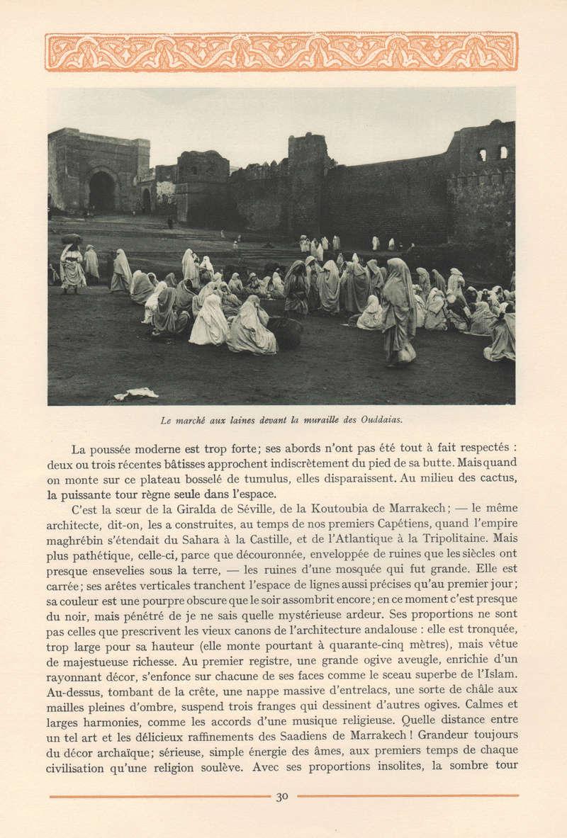 VISIONS DU MAROC, André CHEVRILLON. 06-vis11