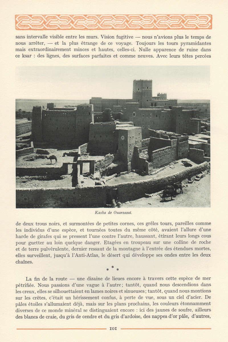 VISIONS DU MAROC, André CHEVRILLON. - Page 4 Visio105