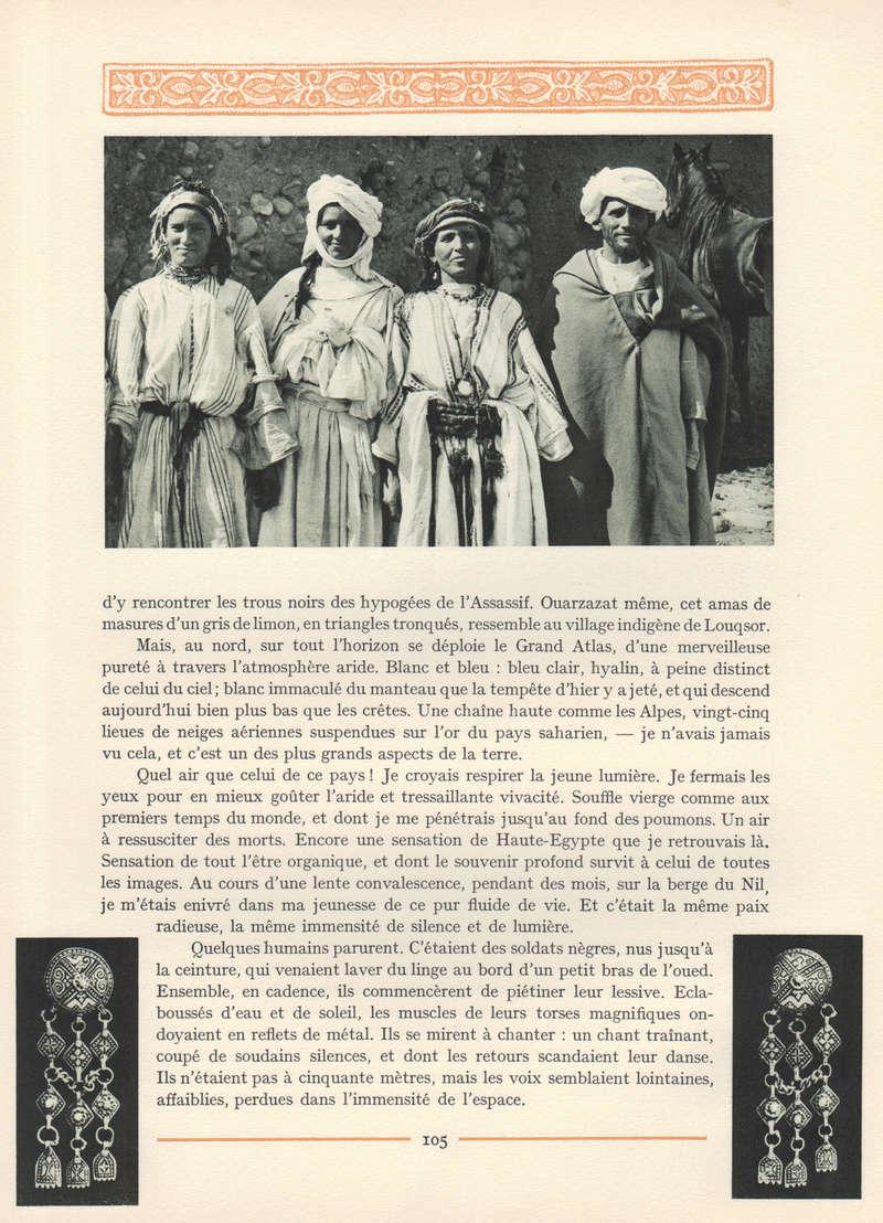 VISIONS DU MAROC, André CHEVRILLON. - Page 4 Visio109