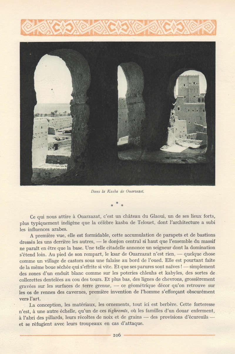 VISIONS DU MAROC, André CHEVRILLON. - Page 4 Visio110