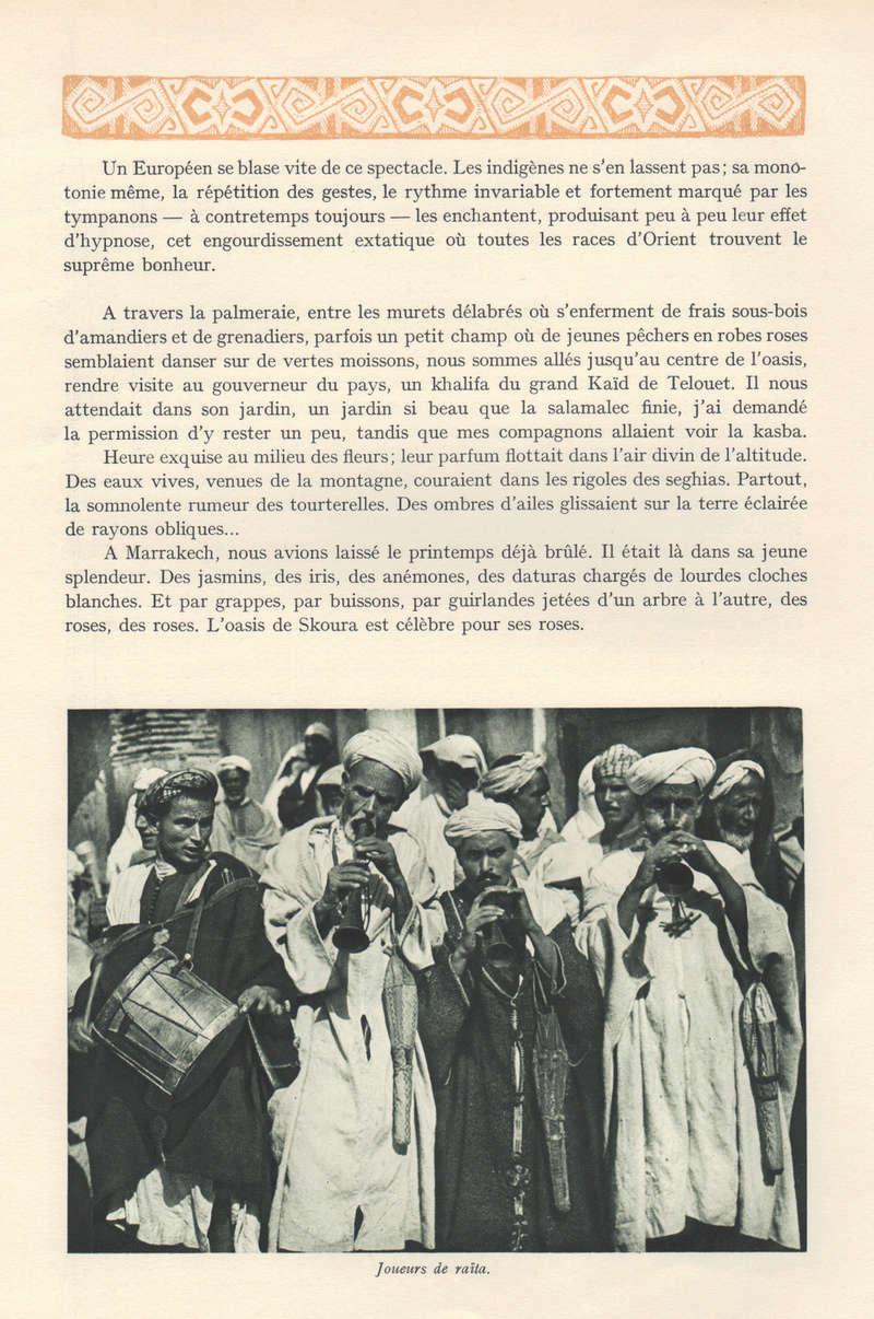 VISIONS DU MAROC, André CHEVRILLON. - Page 5 Visio116