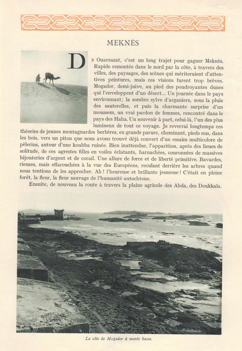 VISIONS DU MAROC, André CHEVRILLON. - Page 5 Visio119