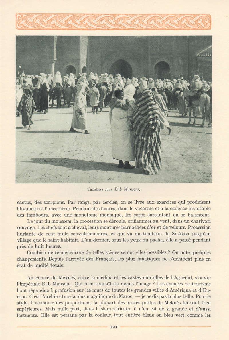 VISIONS DU MAROC, André CHEVRILLON. - Page 5 Visio125