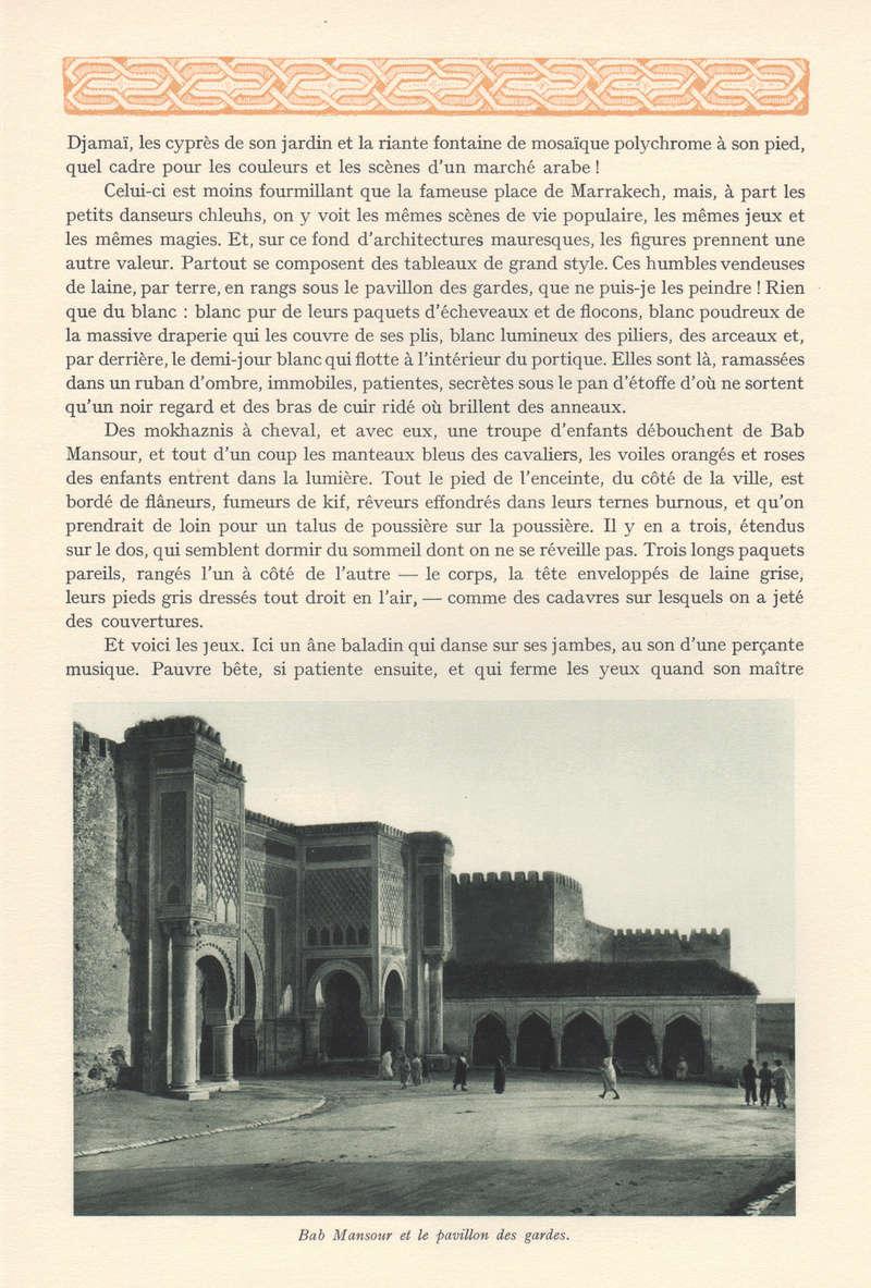 VISIONS DU MAROC, André CHEVRILLON. - Page 5 Visio127