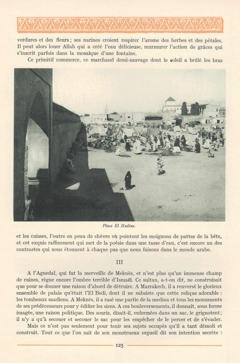 VISIONS DU MAROC, André CHEVRILLON. - Page 5 Visio129