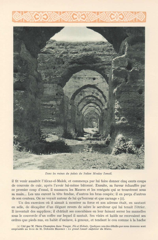 VISIONS DU MAROC, André CHEVRILLON. - Page 5 Visio132
