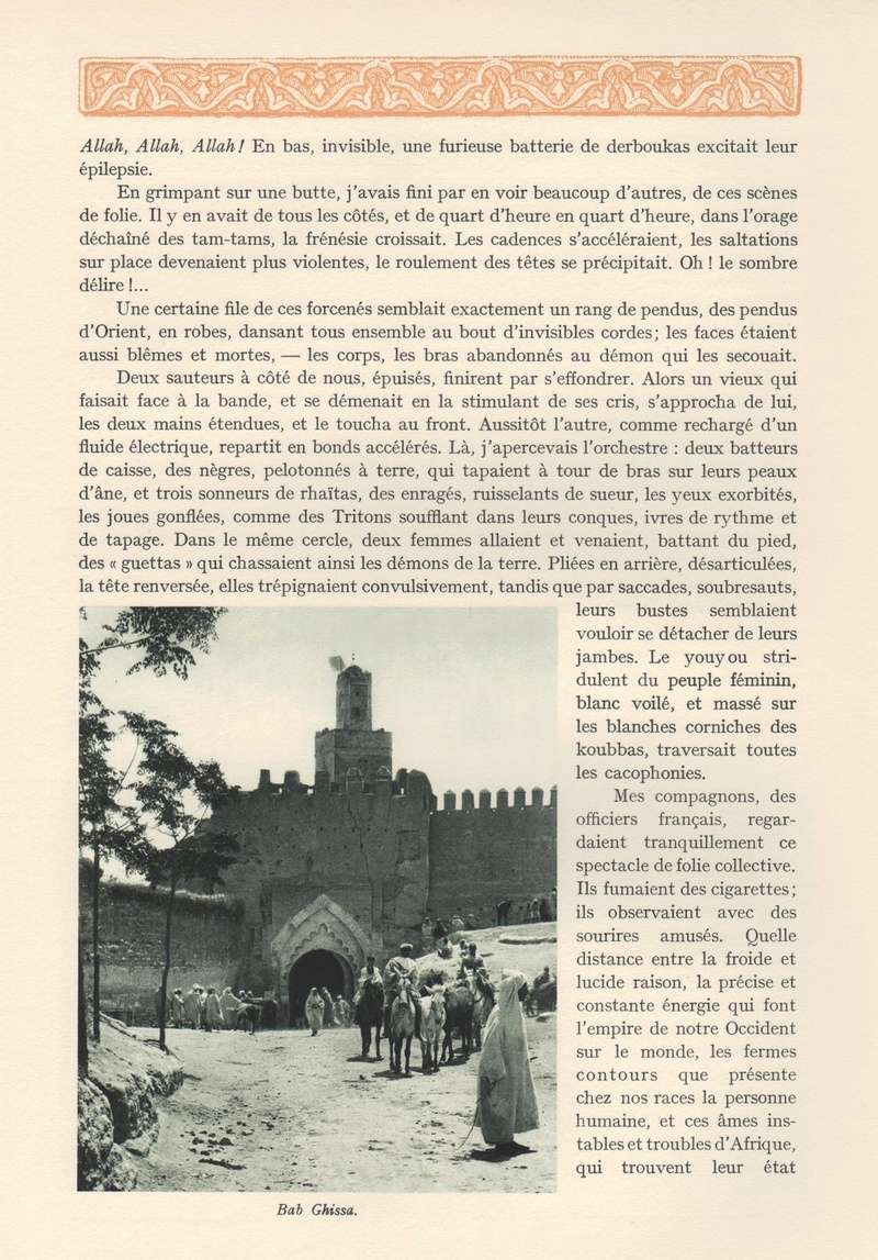 VISIONS DU MAROC, André CHEVRILLON. - Page 6 Visio187
