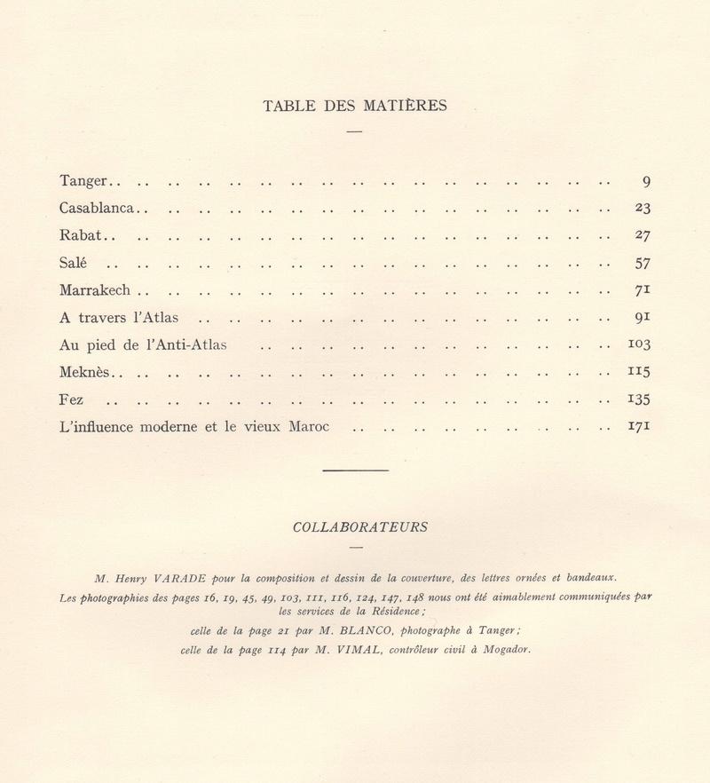 VISIONS DU MAROC, André CHEVRILLON. Visio201