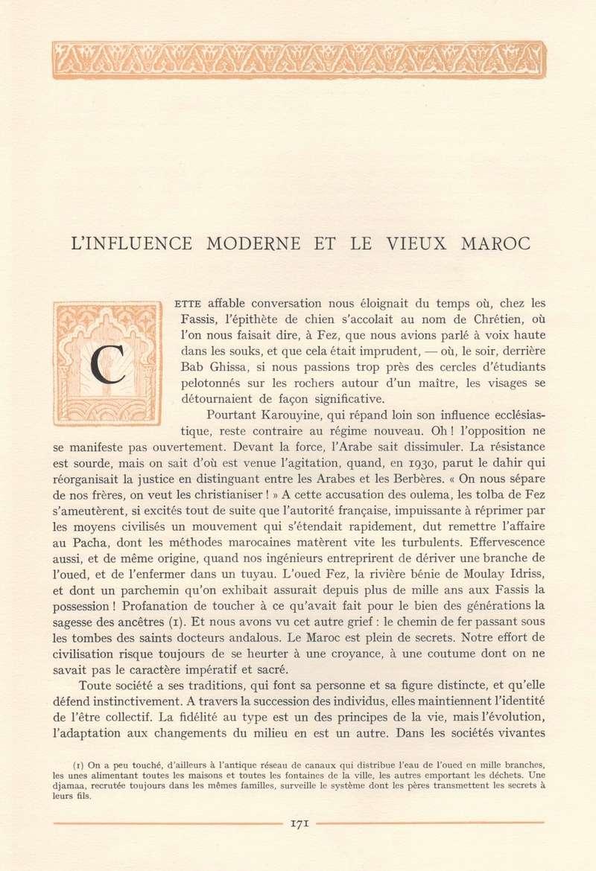 VISIONS DU MAROC, André CHEVRILLON. - Page 7 Visio232