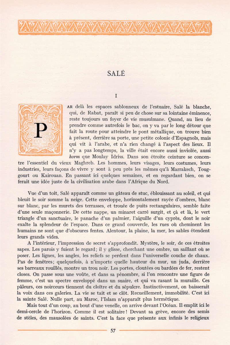 VISIONS DU MAROC, André CHEVRILLON. - Page 3 Vision10
