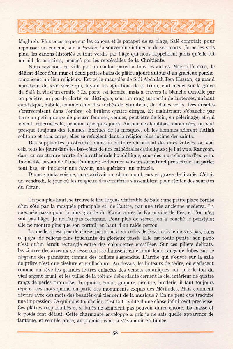 VISIONS DU MAROC, André CHEVRILLON. - Page 3 Vision11