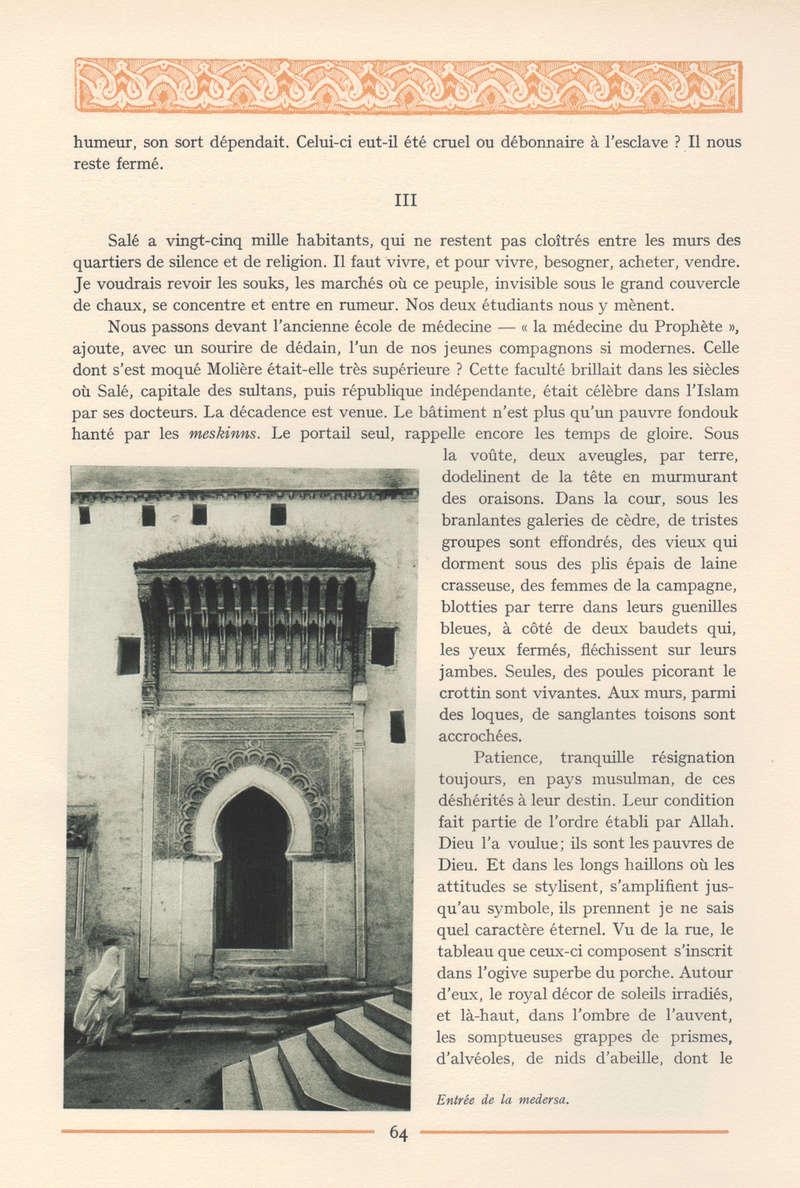 VISIONS DU MAROC, André CHEVRILLON. - Page 3 Vision17