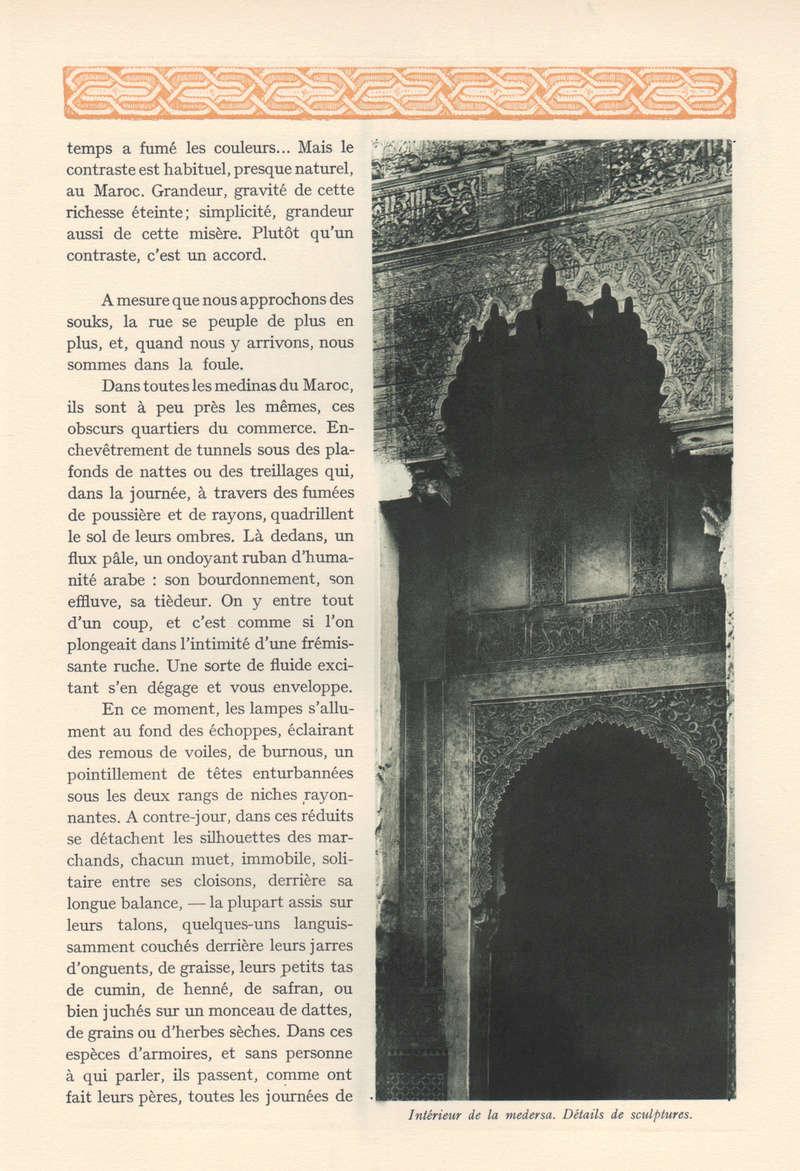 VISIONS DU MAROC, André CHEVRILLON. - Page 3 Vision18