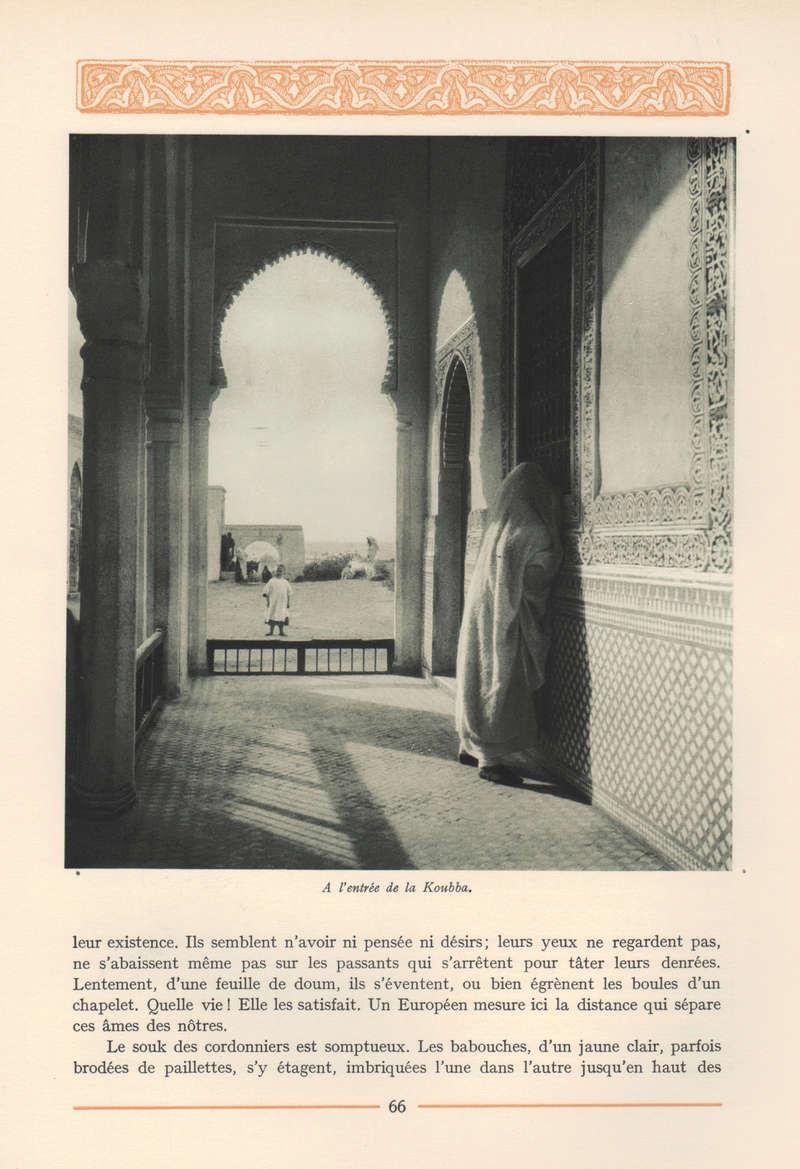 VISIONS DU MAROC, André CHEVRILLON. - Page 3 Vision19