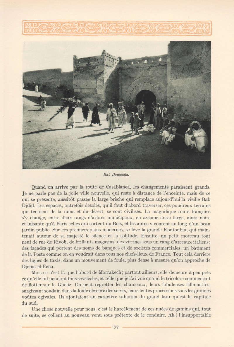 VISIONS DU MAROC, André CHEVRILLON. - Page 3 Vision45